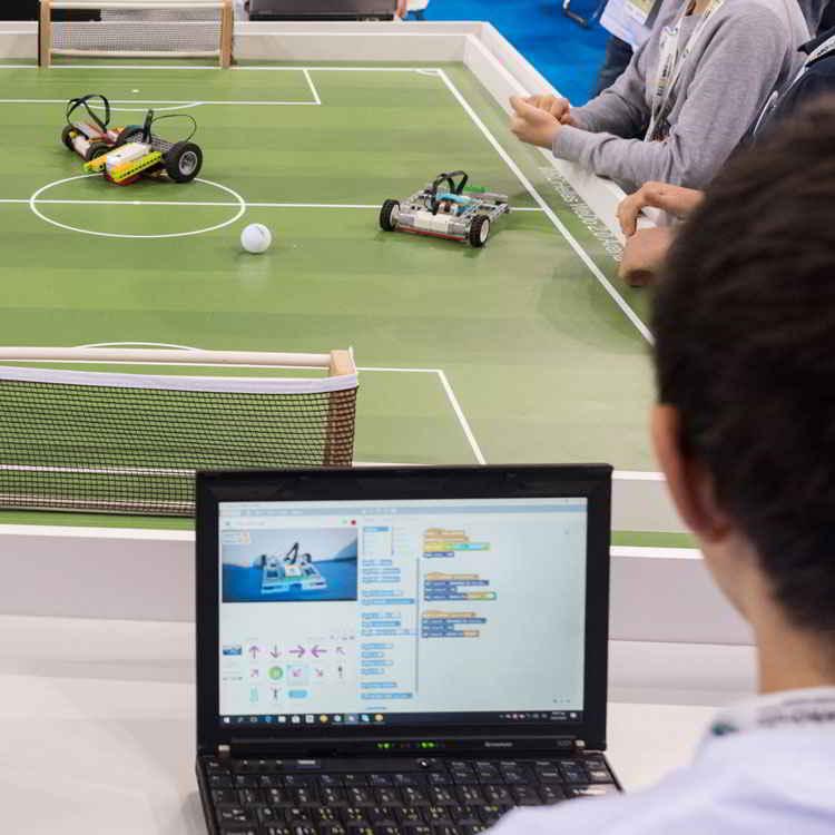 Headline - Cosmote | Robotics Contest - Image 01