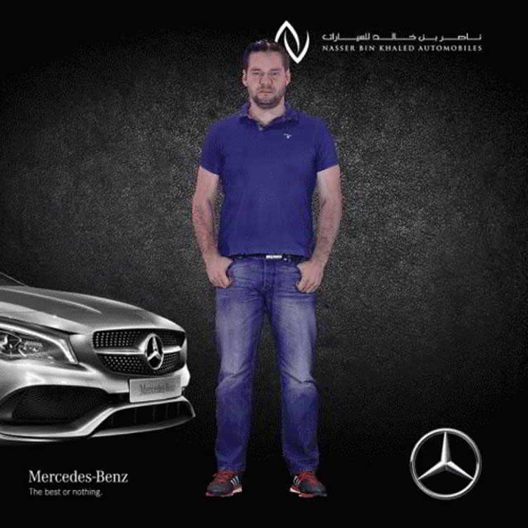 Headline - Mercedes Benz | Quatar International Motor Show - Image 07